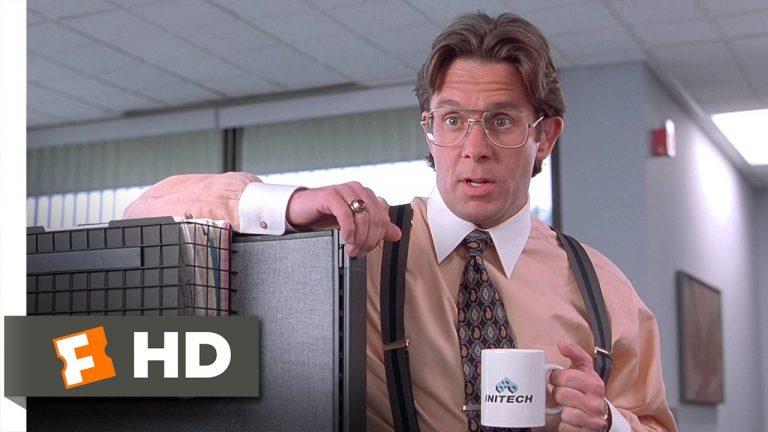 Office space movie leadership