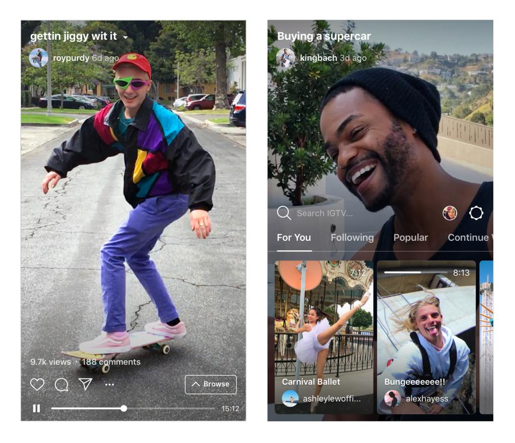Instagram launches IGTV App For Creators