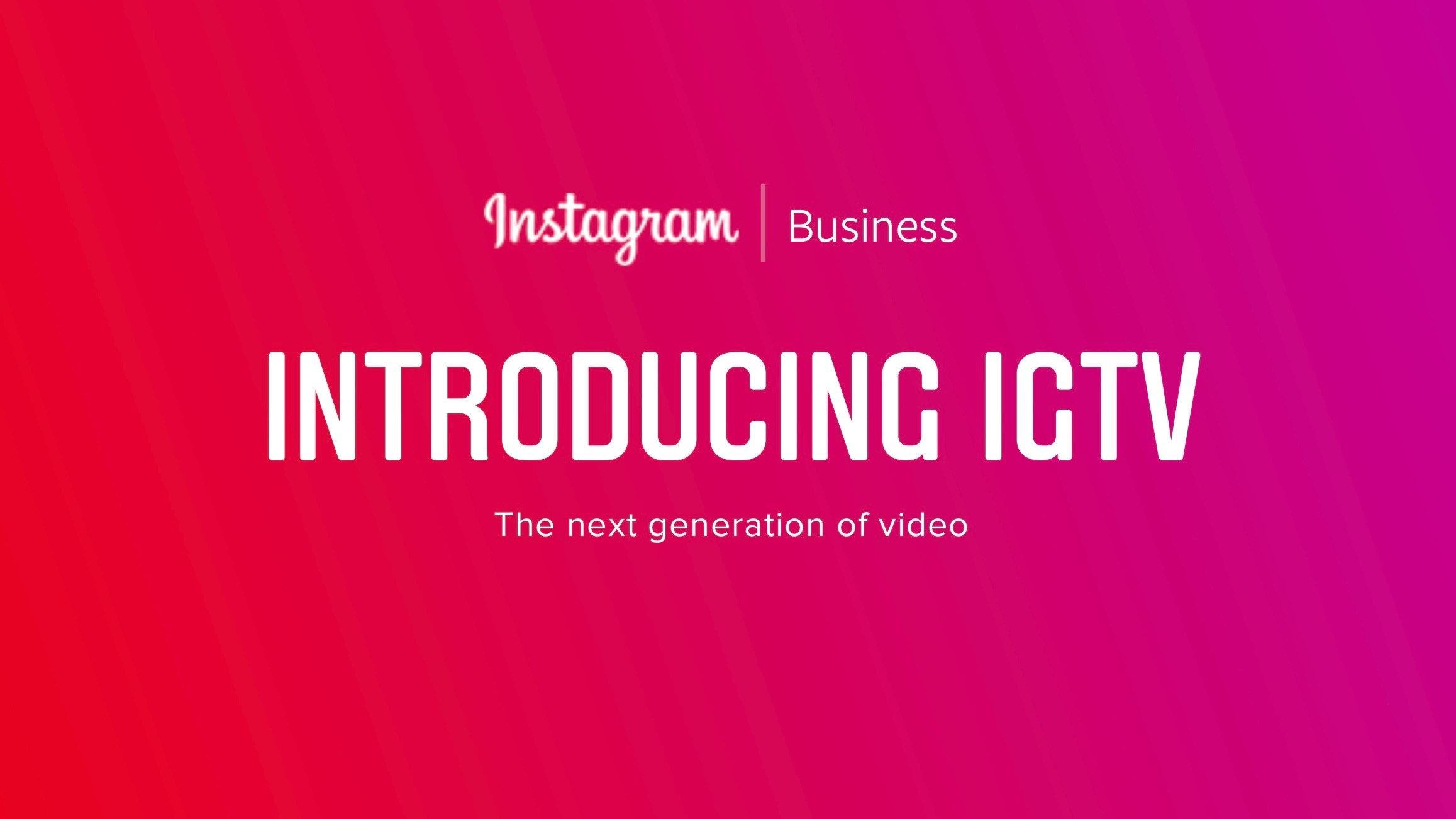 Instagram's business blog outed details of IGTV
