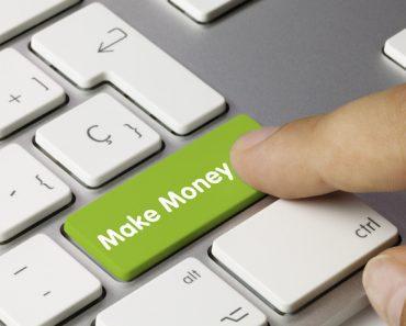 Make money keyboard key. Finger