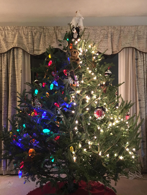 12. When You Don't Agree On How To Decorate A Tree