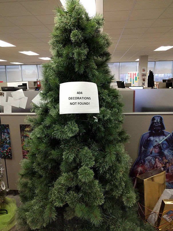 I Work At A Tech Company, This Is Our Christmas Tree