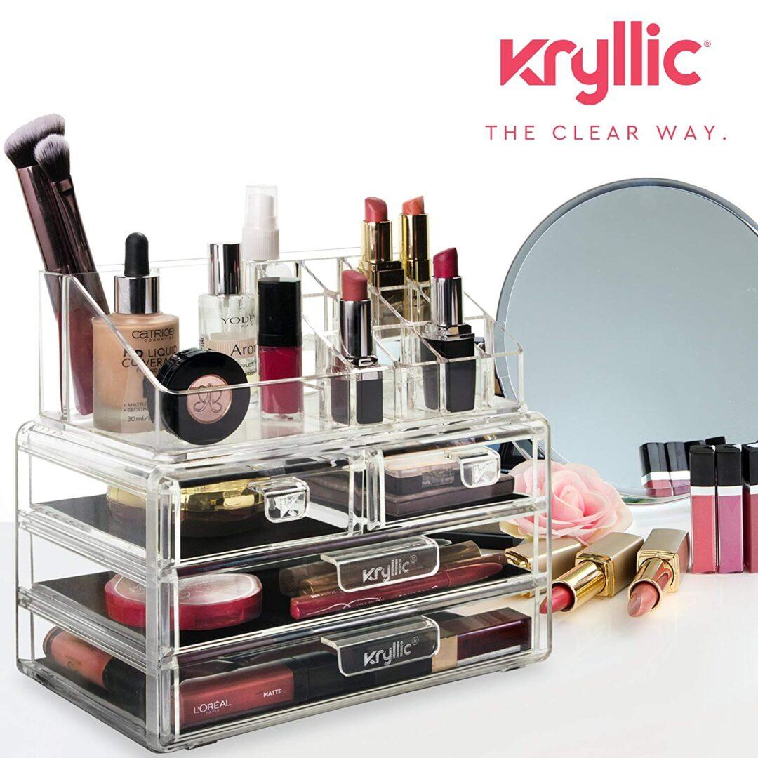 Acrylic Vanity Makeup Cosmetic Organizer