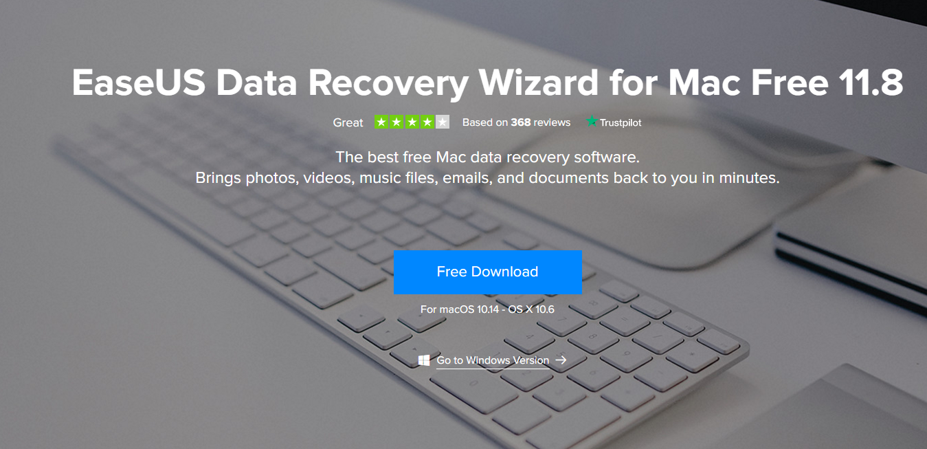 EaseUS Data Recovery For Mac