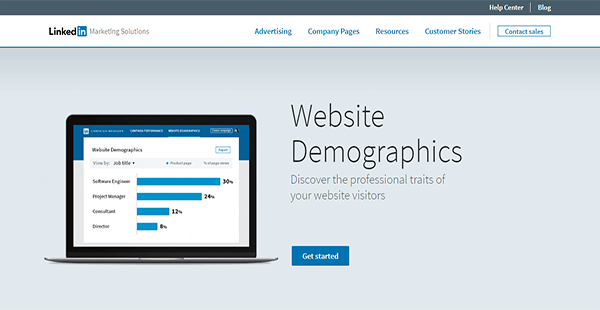 LinkedIn Website Demographics