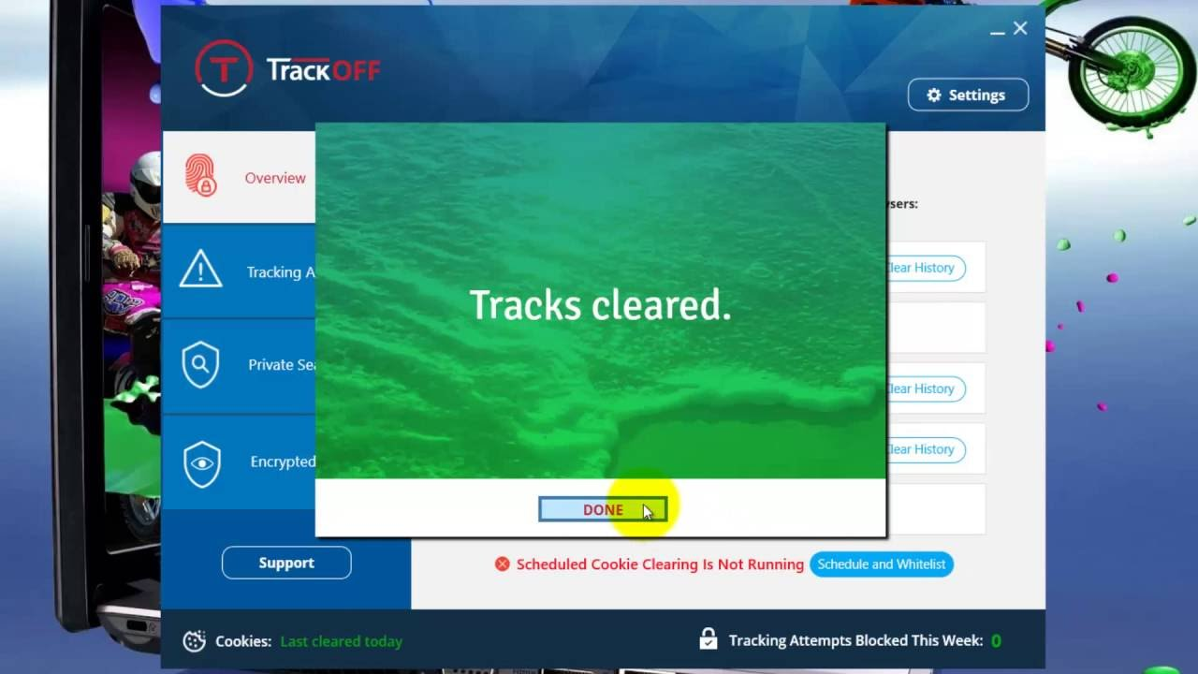 TrackOFF Basic