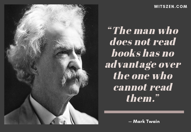 — Mark Twain