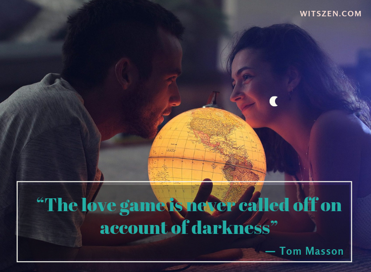 ― Tom Masson