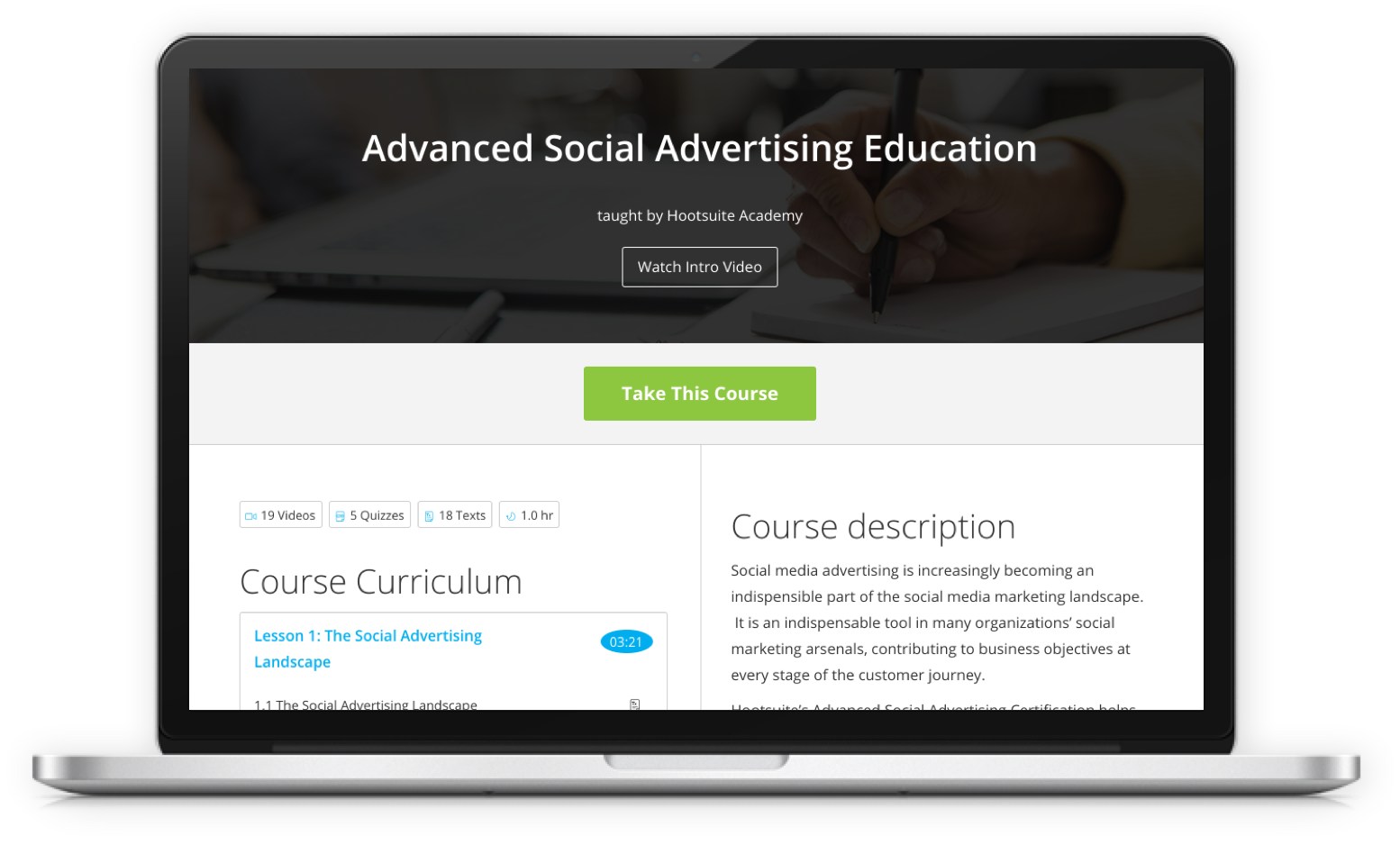 Advanced Social Advertising Training