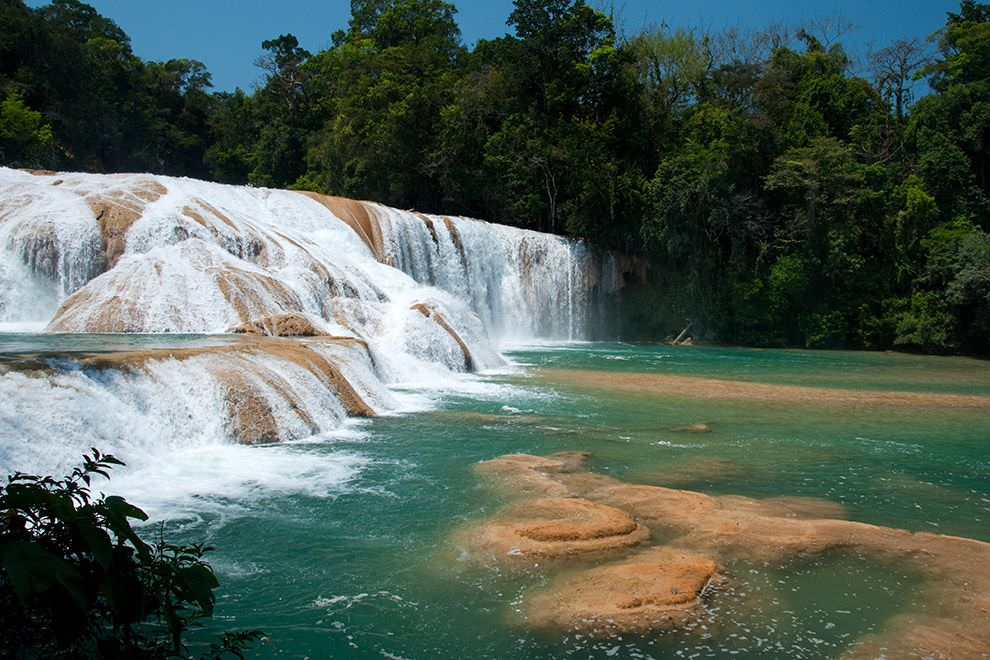 27. Agua Azul Waterfalls, Mexico