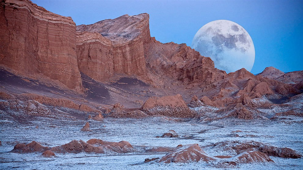 32. Valley Of The Moon, Atacama Desert, Chile
