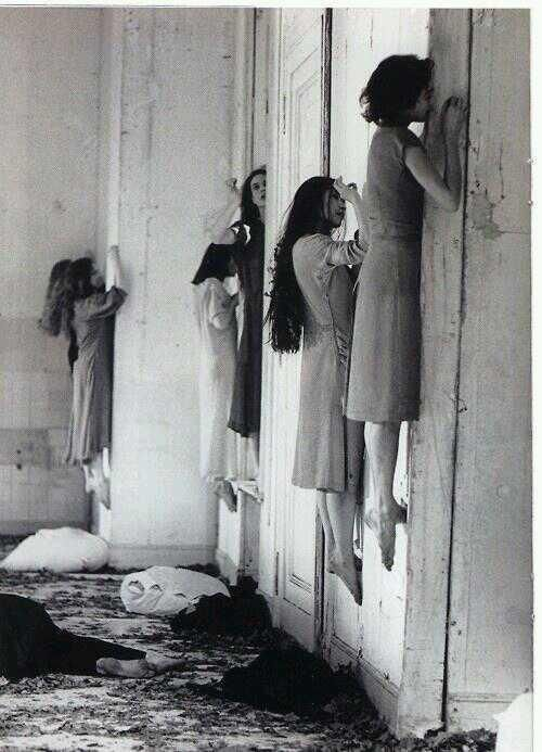 5. Photo from a Soviet mental institution in 1952