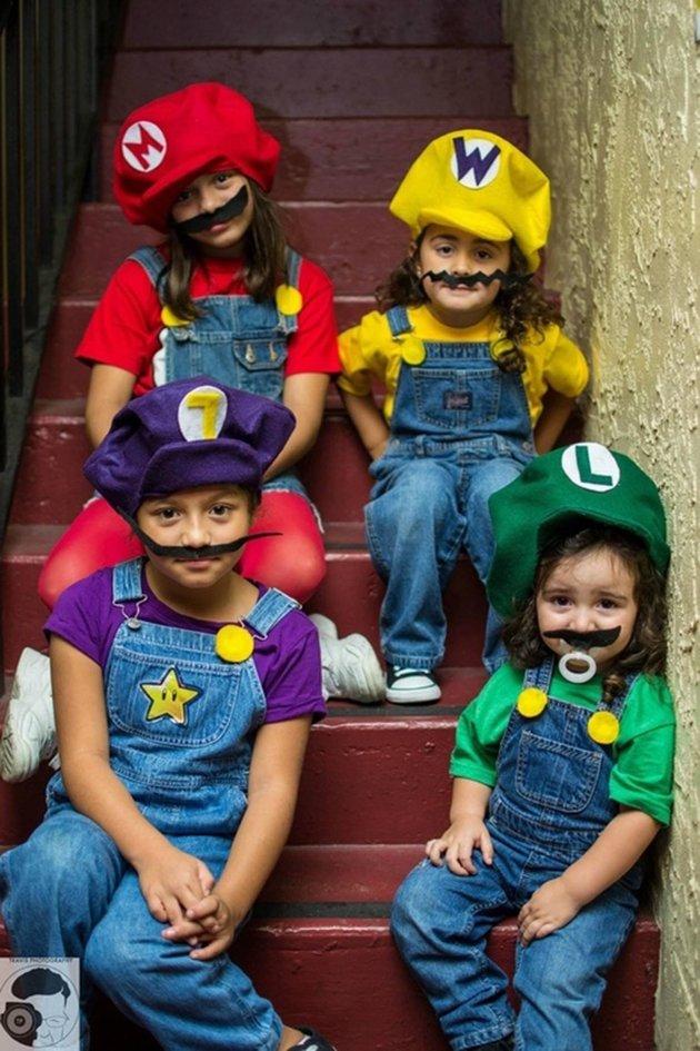 game of Mario halloween costumes