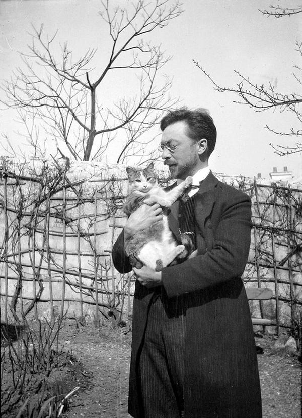 Kandinsky-and-his-cat-Vaske