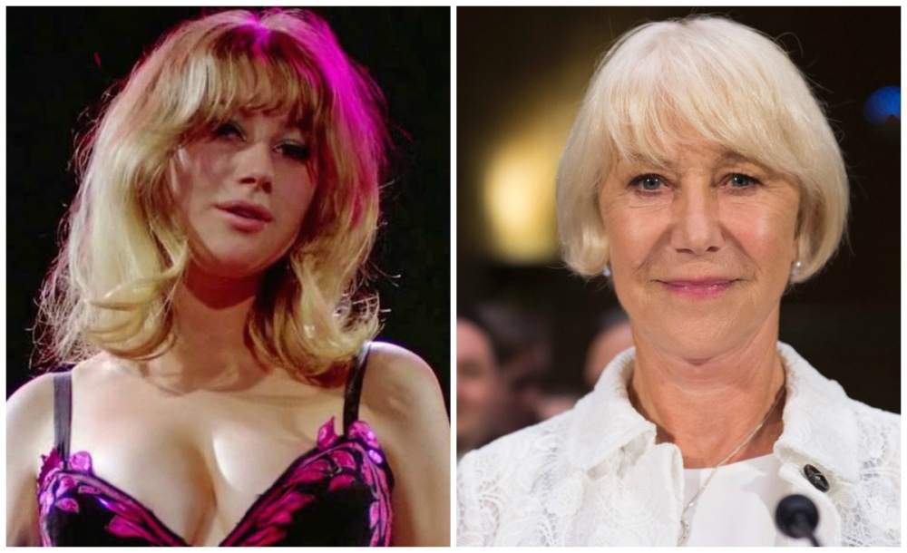 Actresses From The 60s And Now