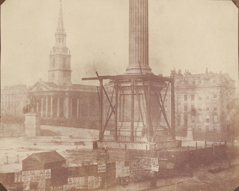 Nelson's-Column-Vintage-Pictures