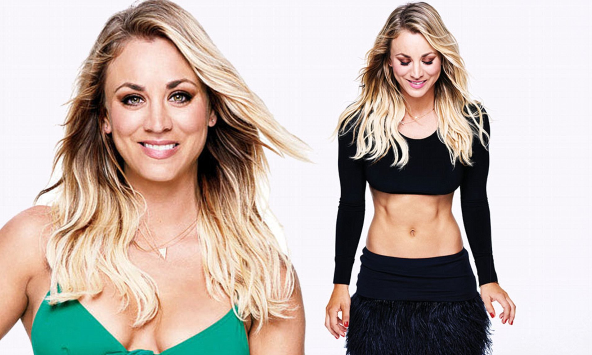 kaley cuoco measurements
