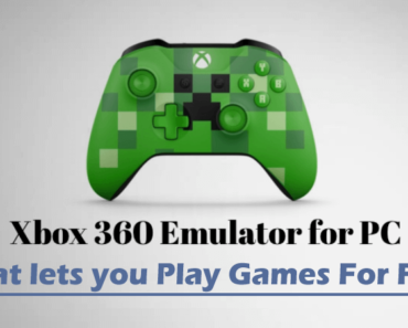 XBOX 360 Emulators For PC