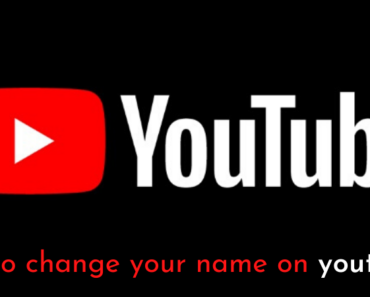 How To Change Your Name On YouTube