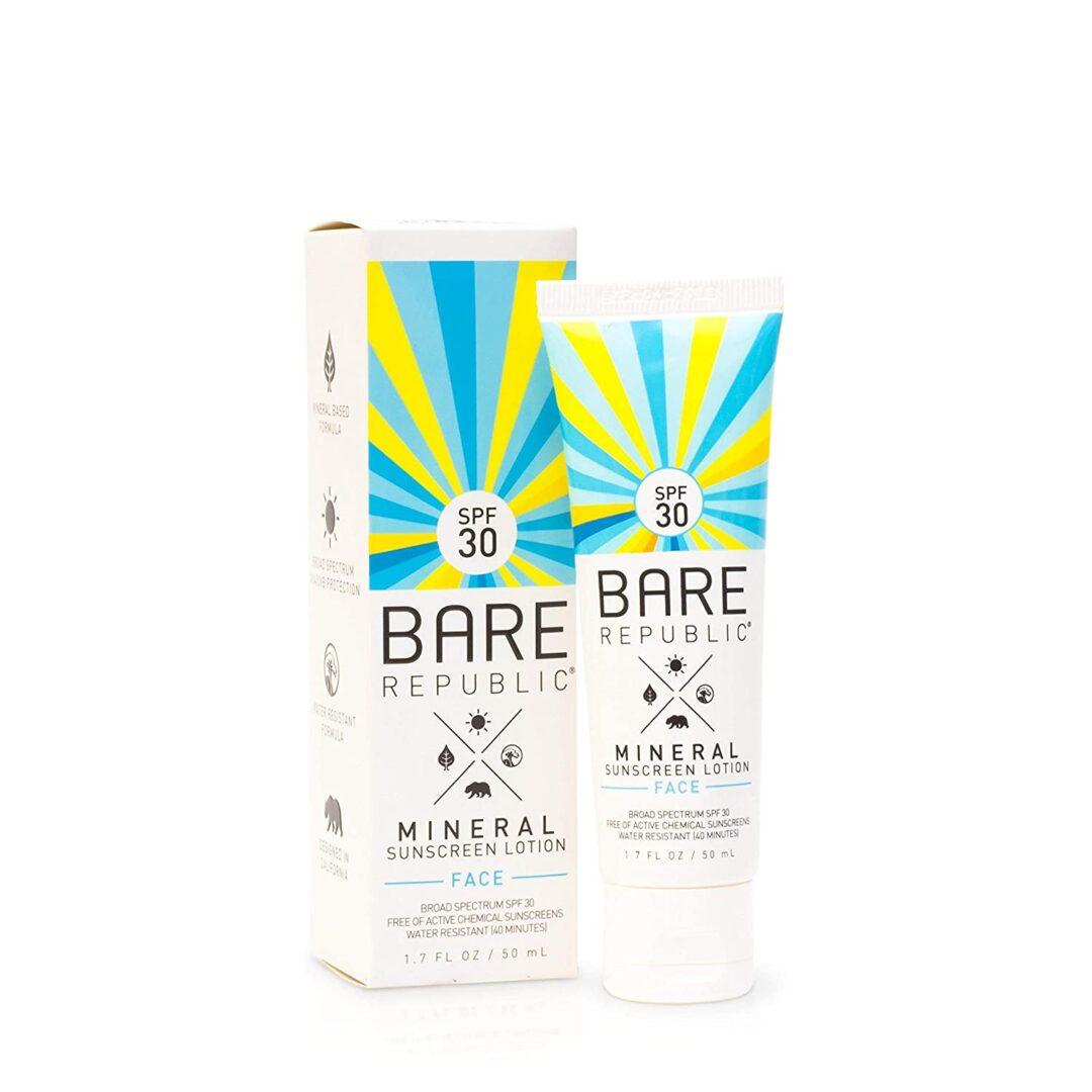 Bare Republic Mineral Face Sunscreen Lotion