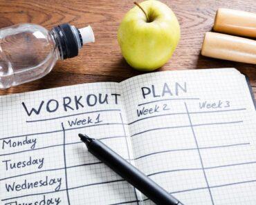 Create A Workout Plan