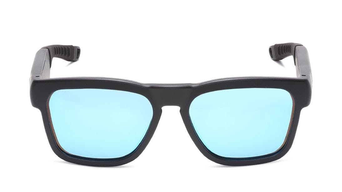 Blue Fastrack Bluetooth Sunglasses
