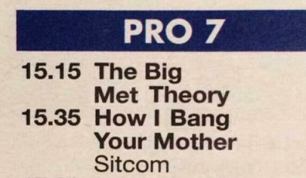 How I Bang Your Mother