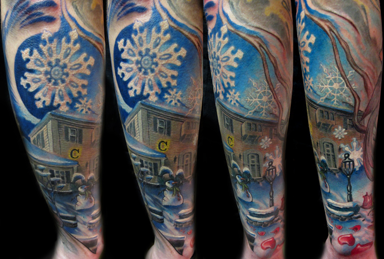 Winter-Themed Tattoos