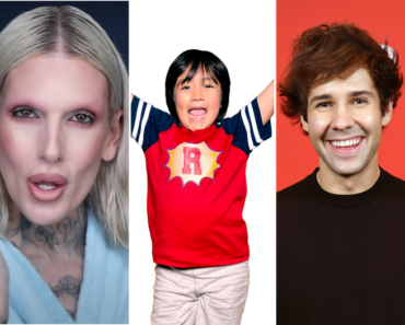 Top-earning YouTube stars of 2020