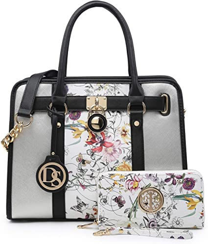 Two Tone Satchel Bags