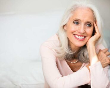 grey haired women