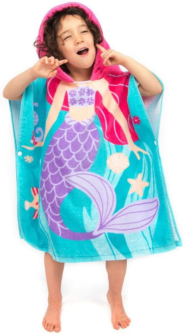 ZINGLIFE Toddler Hooded Beach Towel