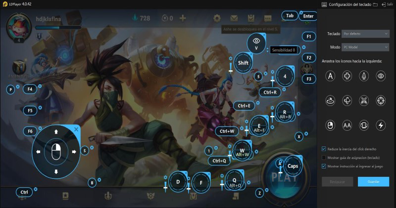 LDPlayer Features for Wild Rift