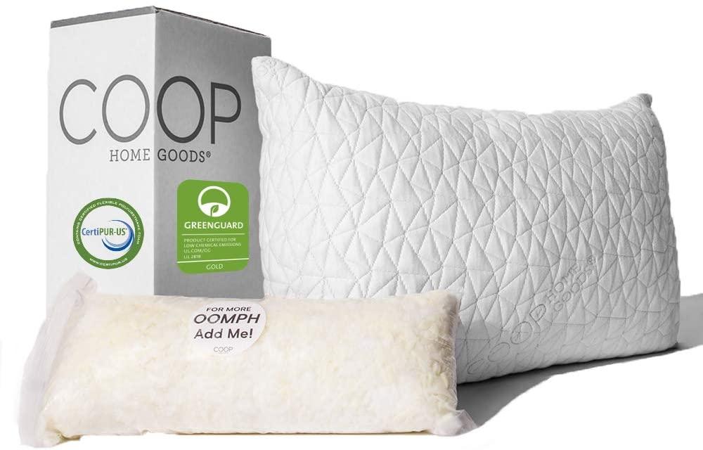 Coop Adjustable Loft Pillow