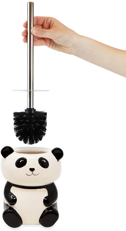 Panda Toilet Bowl Brush Holder