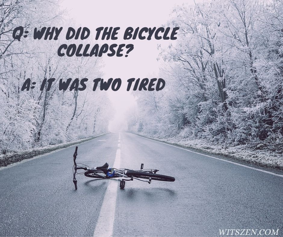 Bicycle collapse