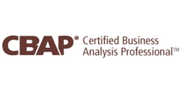 CBAP Certification